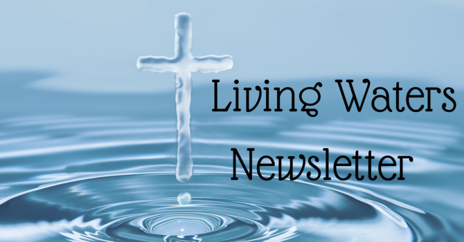 April Living Waters Newsletter image
