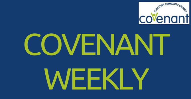 Covenant Weekly - November 14, 2017 image