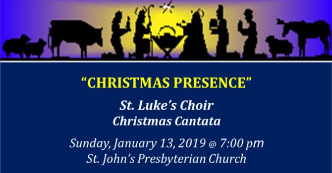 St. Luke's Choir Cantata image