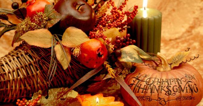 Reflection ~ Thanksgiving Sunday image