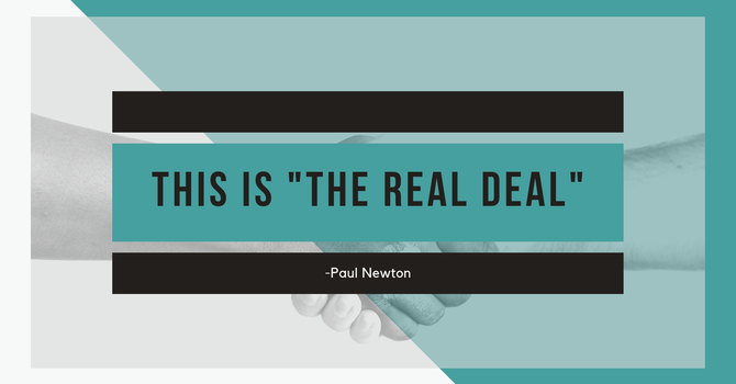 """""""The Real Deal"""""""