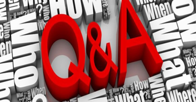 Question & Answer Time