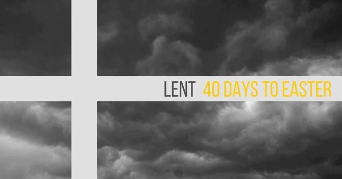 Lent: It's My Party...  image