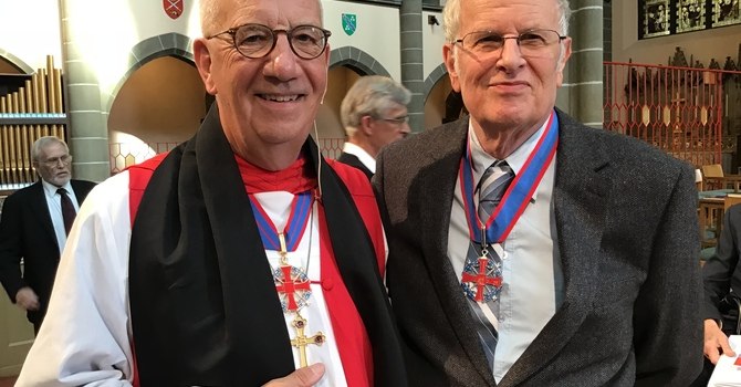 Ed Dawson Invested in the Order of the Diocese of BC image