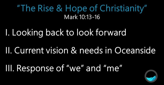 The Rise & Hope of Christianity
