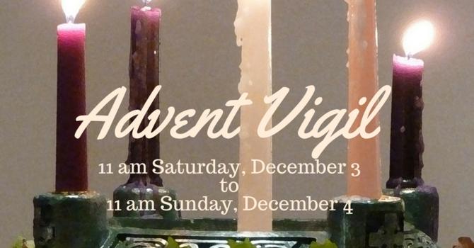 24 Hour Advent Vigil image