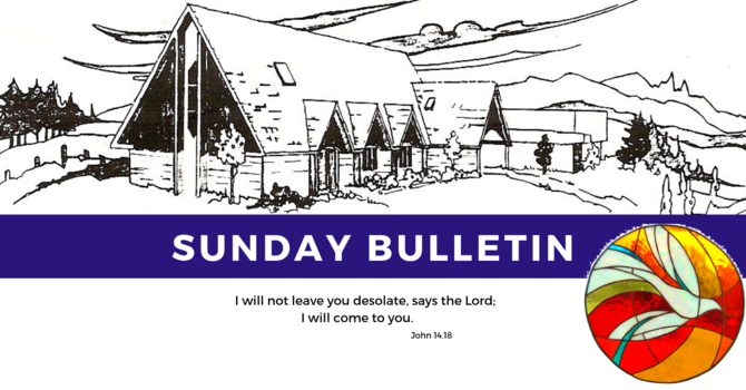 Bulletin - Sunday, June 2, 2019 image
