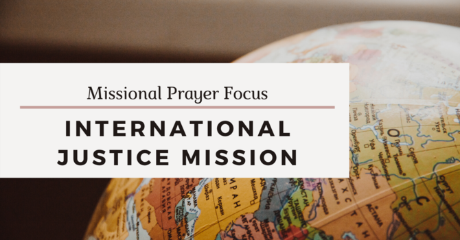Missional Prayer Focus · April 12, 2020