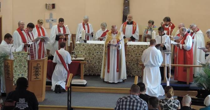 Rev. Alastair Hunting's ordination image