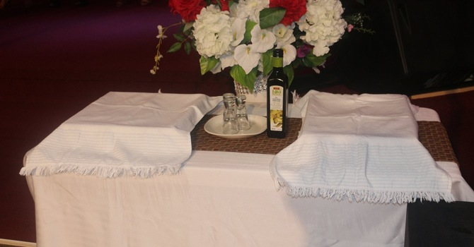 HOLY COMMUNION & ANOINTING SERVICE  image