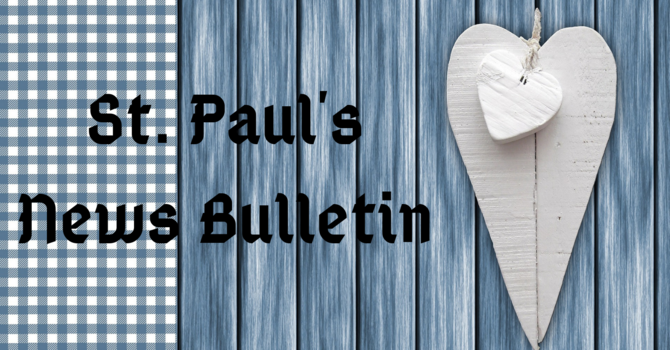 St. Paul's September 15th News Bulletin image