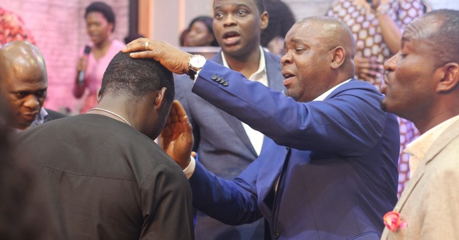 Holy Communion and Anointing Service  image