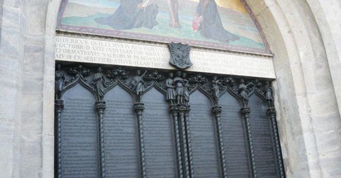 Sermon Snippet : What is your Wittenberg Door? image