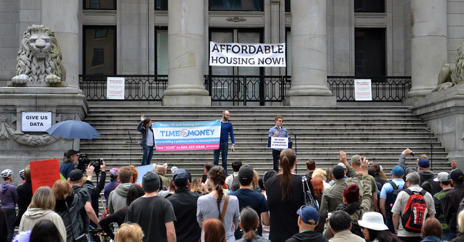 Community: Affordable Housing Rally  image