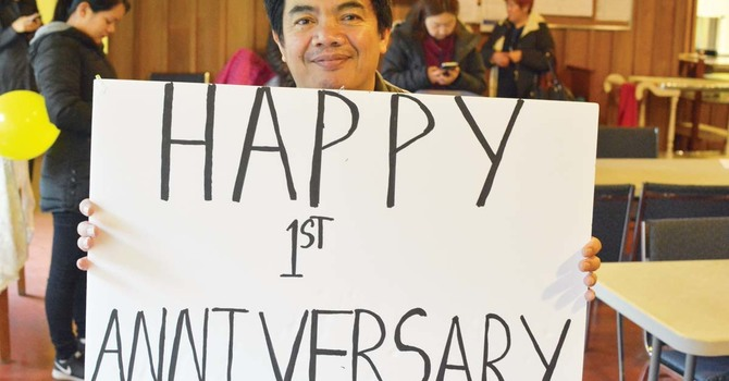 Happy First Anniversary Father Arvin image