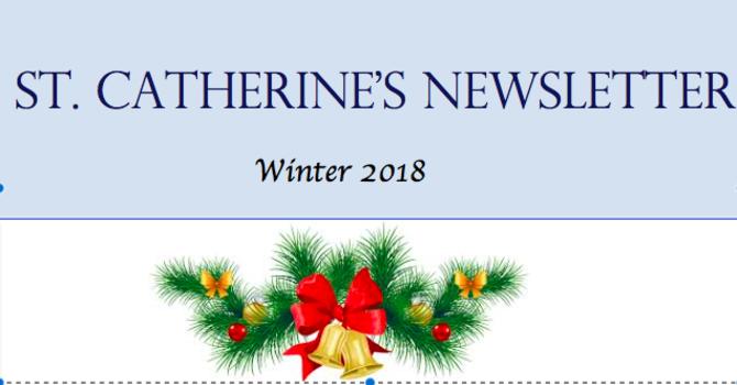 St Catherine's Christmas Newsletter image