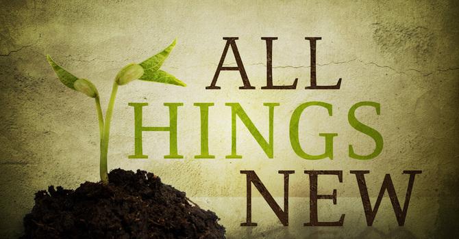 I AM MAKING EVERYTHING NEW! image