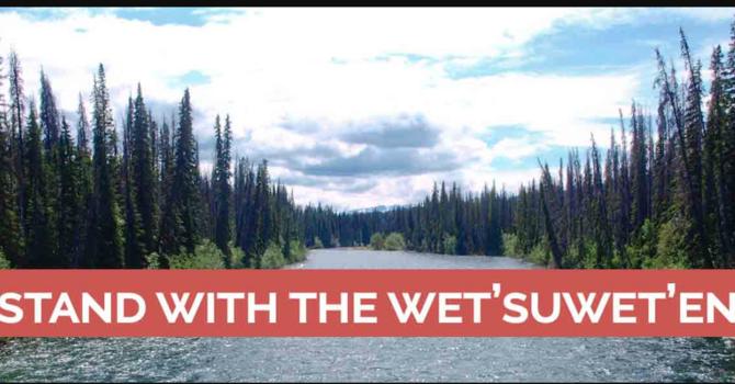 Support for the wet'suwet'en Nation image