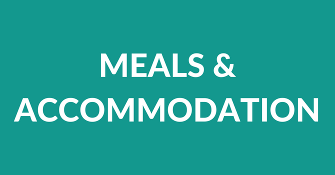 Meals & Accommodation