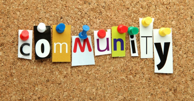 In the Community image
