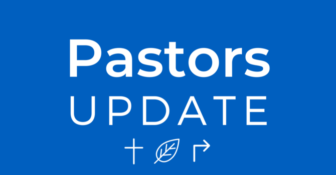 Update from Pastors image