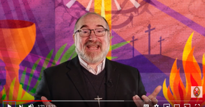 Moderator Richard Bott's Easter Message 2020  image