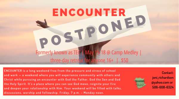 Encounter is postponed