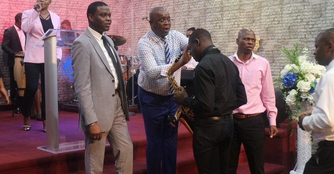 ANOINTING & HOLY COMMUNION SERVICE  image