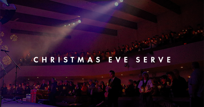 Christmas Eve Serve Opportunity image