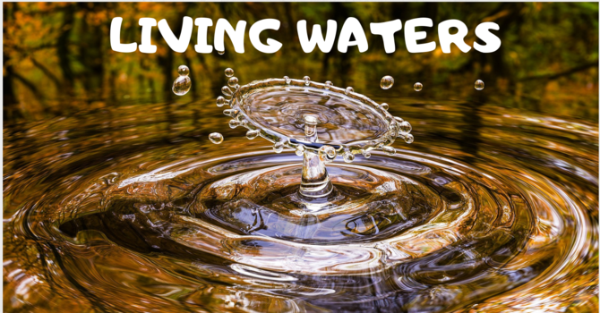 Living Waters Newsletter September 2019 image