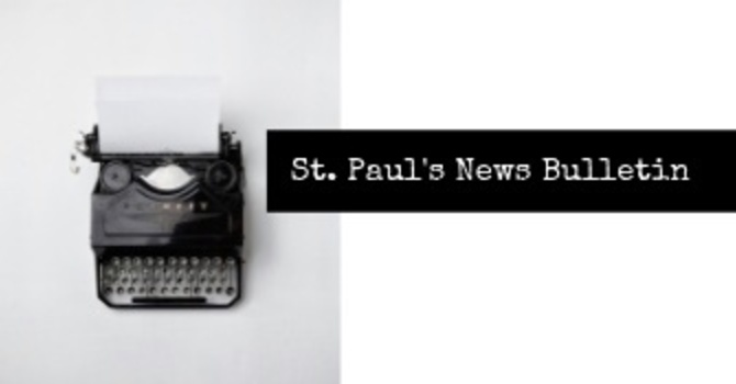 St. Paul's December 30th News Bulletin image