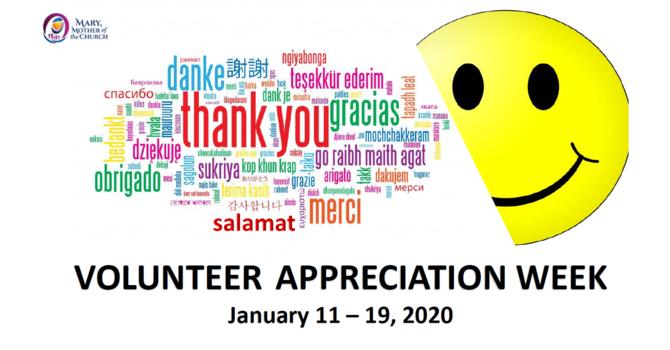 MMOC Volunteer Appreciation Week