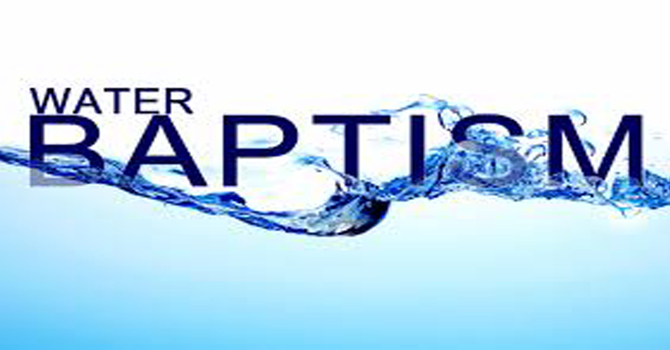 Water Baptism image