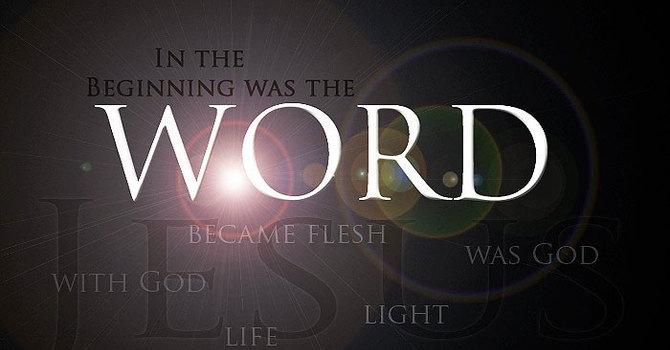 John 1:1-18 and Hebrews 12:1-2 image