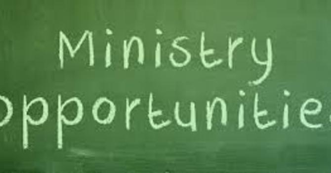Ministry opportunites image