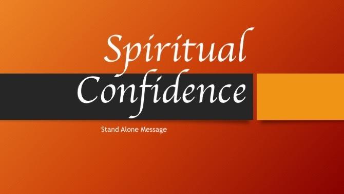 Spiritual Confidence
