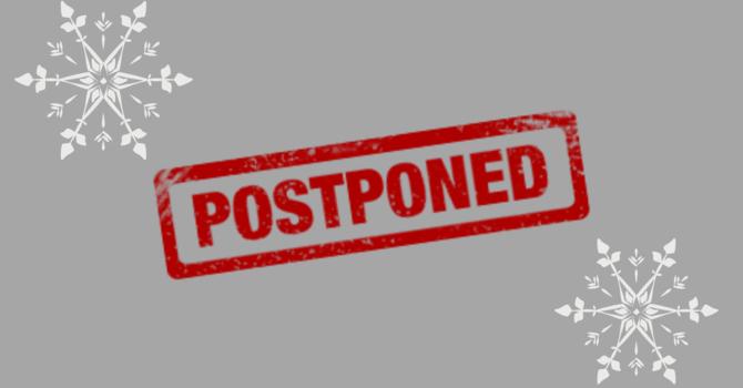 AGM Postponed! image