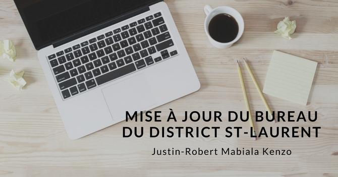 Mise à jour du bureau du district St-Laurent image