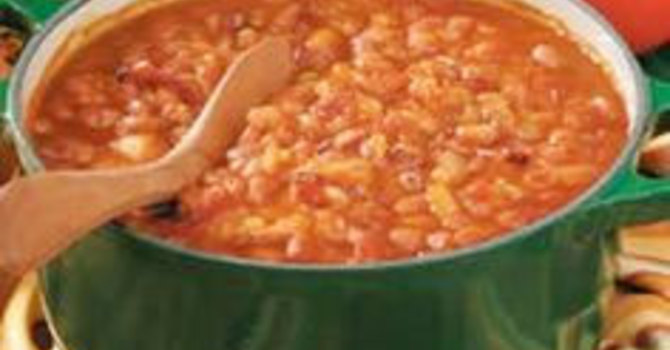 Dad's Baked Beans image