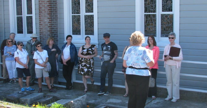 The Cemetery Tour was a Great Success image