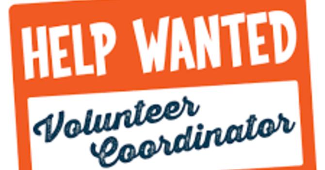Volunteer Coordinator Wanted!