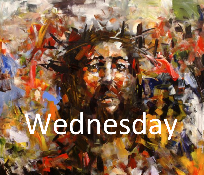 April 8: Holy Wednesday Morning/Evening Prayer