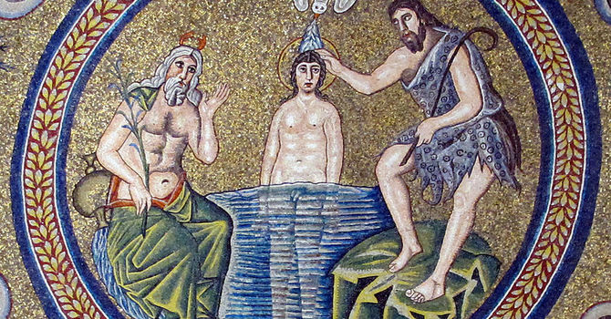 The Baptism of Our Lord image