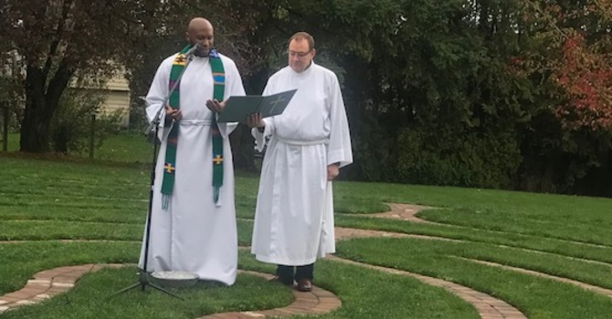 Dedication of the Labyrinth image