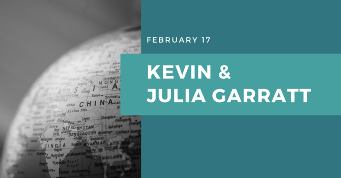 Kevin And Julia Garratt