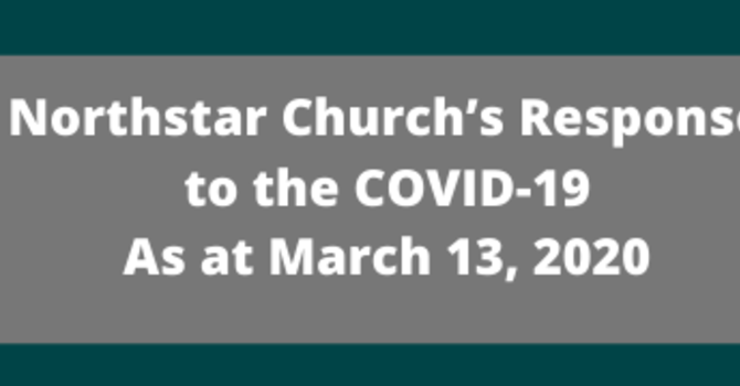 Northstar Church's Response to the COVID-19  image