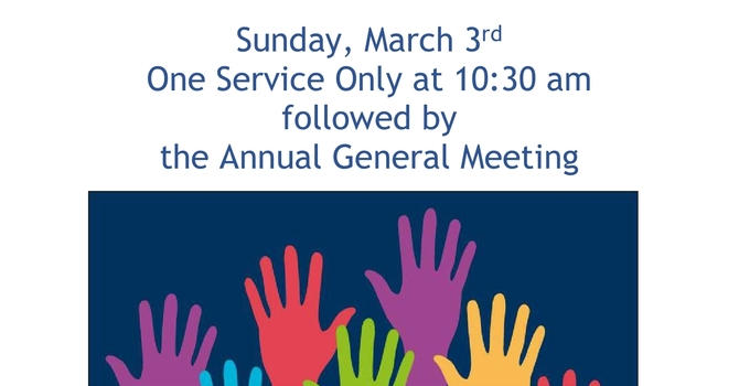 AGM Postponed from February 17th to March 3rd image