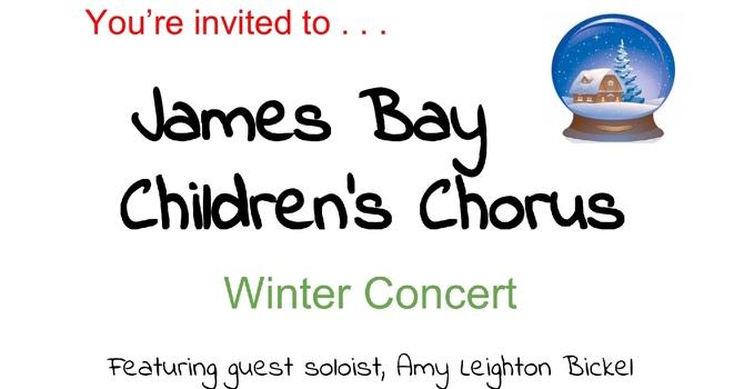 James Bay Children's Chorus Winter Concert. Nov. 29 image
