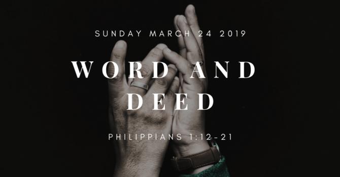 Sunday Bulletin - March 24th 2019 image