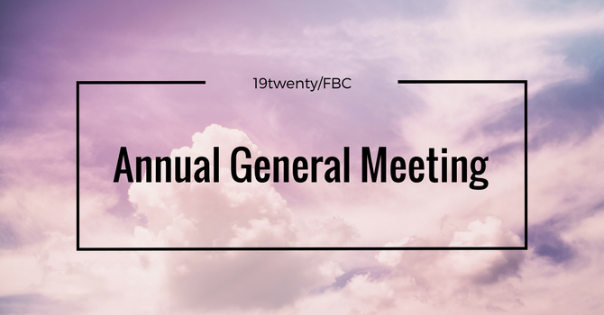 AGM March 8, 2020 @ 10:00am image